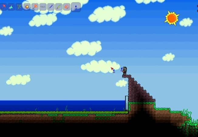 Fishing in Terraria