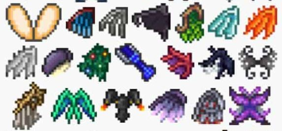 top 5 wings in terraria