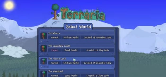 Download Terraria modded adventure map